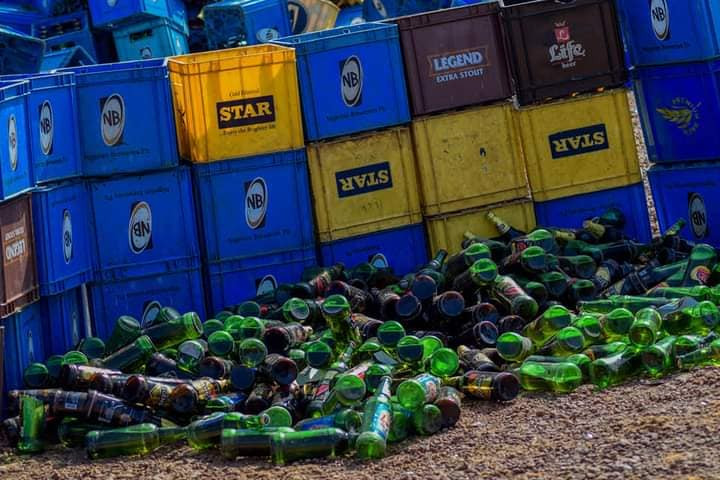 Kano Sharia police destroys 1,975,000 bottles of beer worth over N200 million