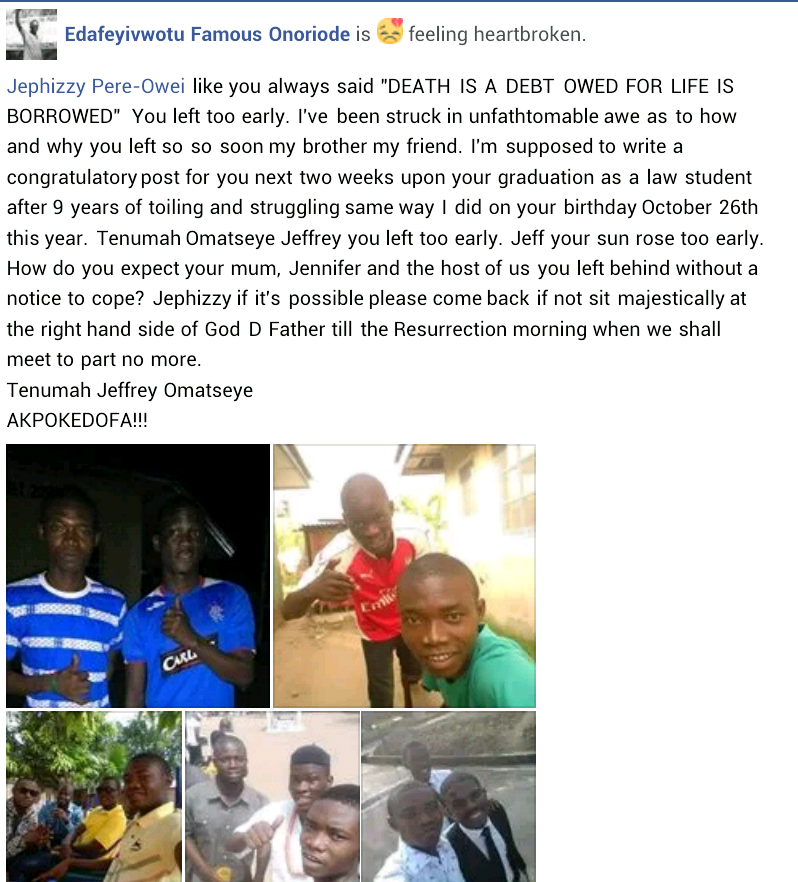 DELSU final year law student drowns in hotel swimming pool two weeks to graduation