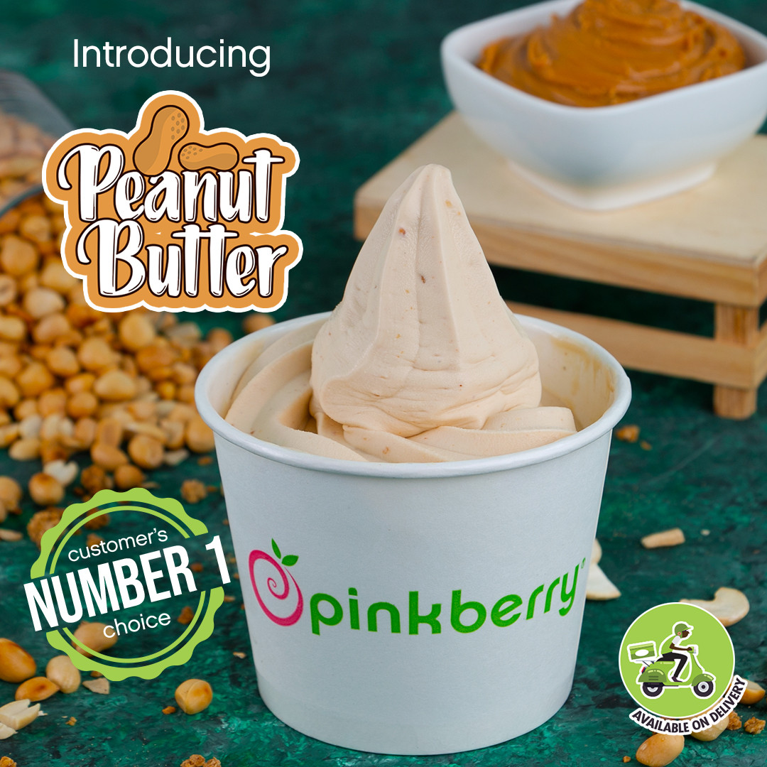 Enjoy the true taste of satisfaction with Pinkberry's Peanut Butter Flavor & Amazing offers this November