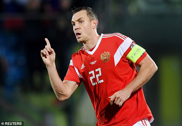 "?""We are all sinners"" - Russia World Cup hero and captain, Artem Dzyuba apologises after he was caught masturbating in leak video"