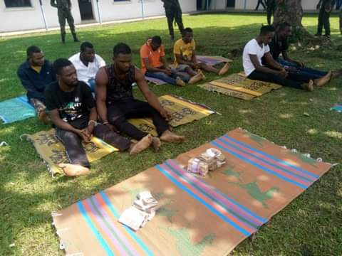 Nigerian Army arrests members of notorious criminal gang led by a university graduate