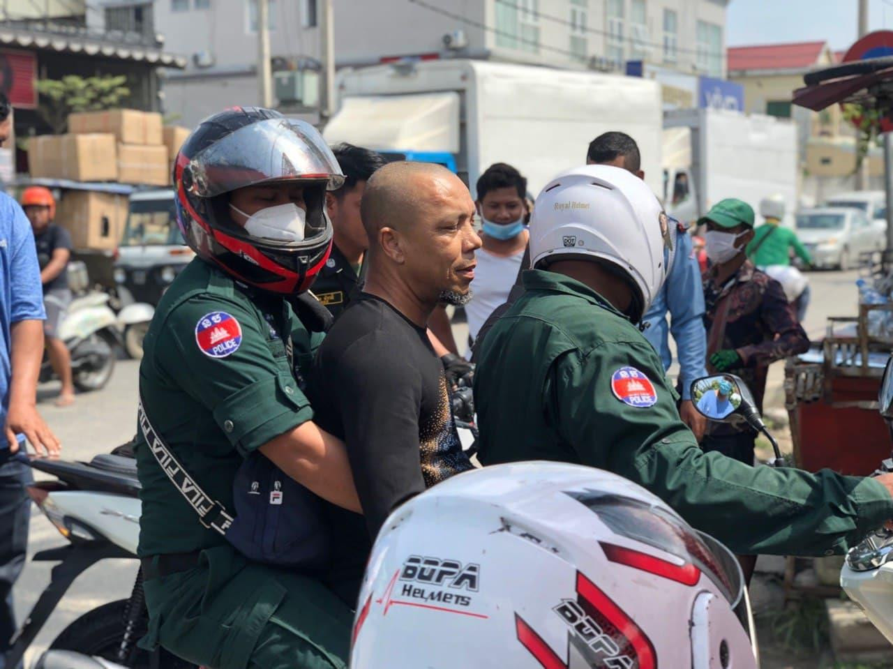 Nigerian man has been arrested in Cambodia