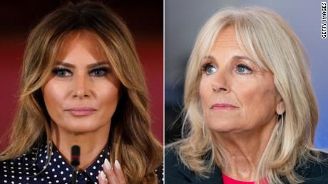 Melania Trump has not reached out to Jill Biden as White House officials refuse to accept Joe Biden