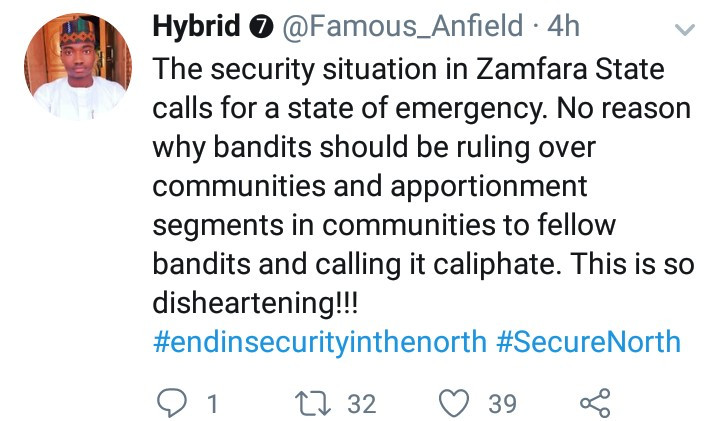 Bandits demand Zamfara farmers pay harvest fee to them before they can harvest their farm produce