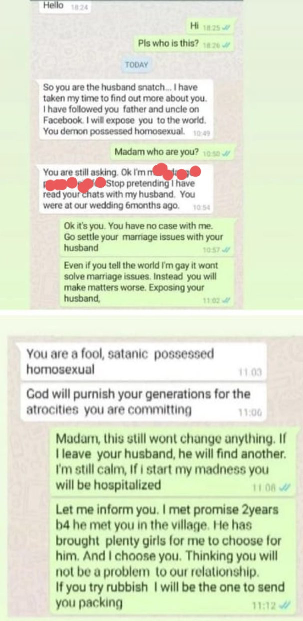 Nigerian woman challenges her husband