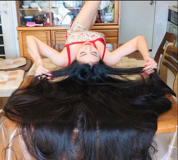 Japan's Rapunzel hasn't cut her '5ft plus long hair' for 15 years