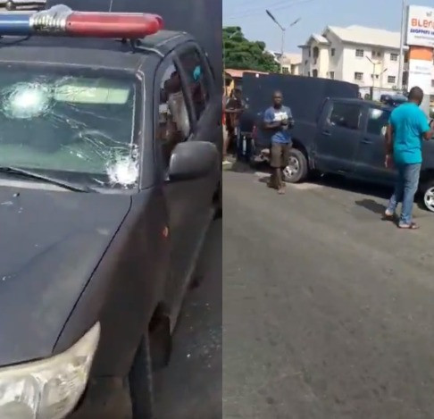 Gunmen attack bullion van in Lagos, allegedly cart away huge sum of money (video)