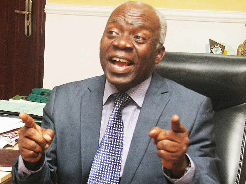 Mr. Joseph Nwaegbu and their shadowy minders and paymasters obviously think that the ICC is a forum for frivolities - Femi Falana reacts to lawsuit against him