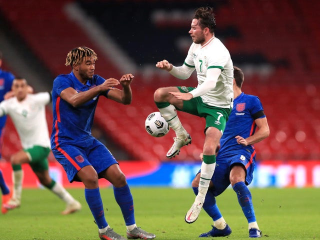 Ireland footballer, Alan Browne had coronavirus while playing 90 minutes against England last night