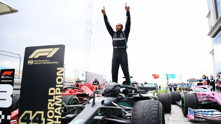 Lewis Hamilton makes history as he wins his seventh Formula 1 title