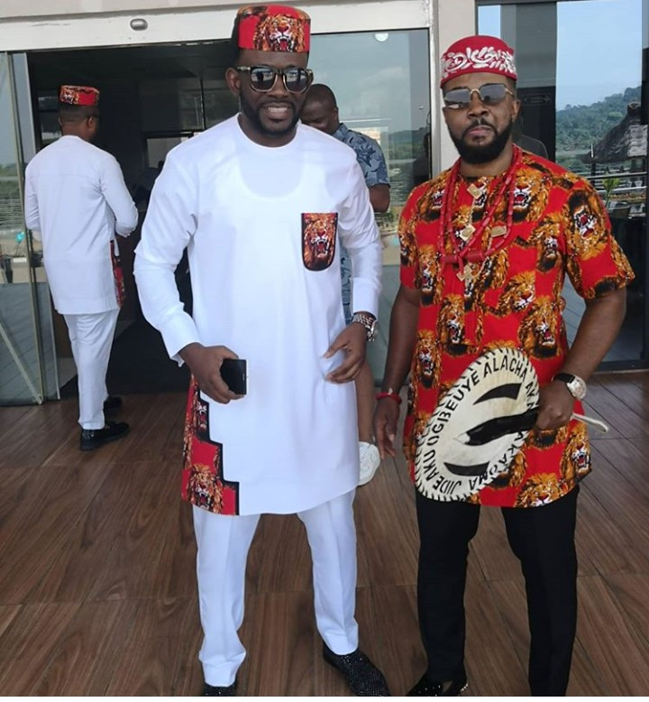 Actor Williams Uchemba's traditional marriage (photos)
