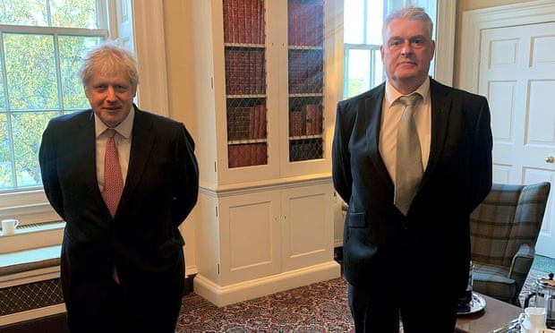 UK Prime Minister Boris Johnson forced to self-isolate again after getting exposed to a Member of Parliament who contracted COVID-19