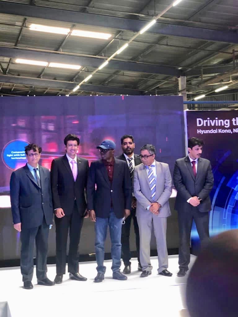 Stallion Group introduces Nigeria's first electric car, Hyundai Kona with a big launch in Lagos