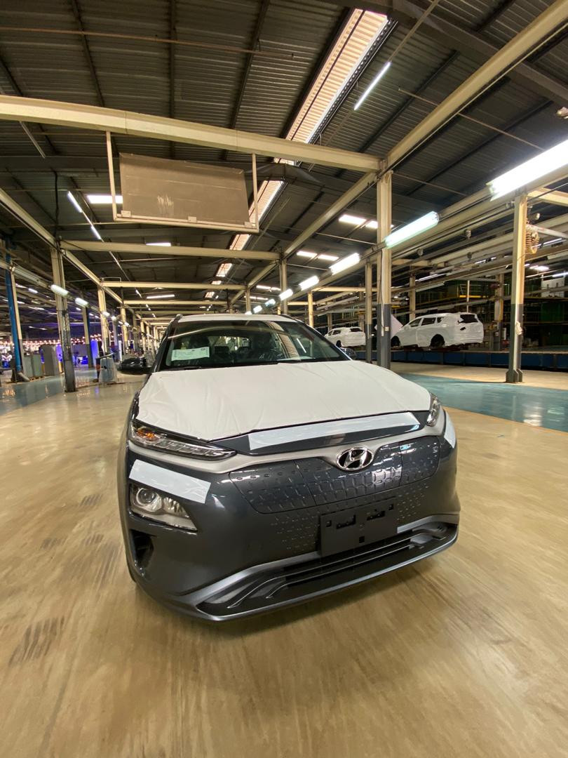 Nigeria's first electric car, Hyundai Kona launched in Lagos
