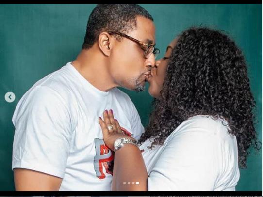 """ Love You Eternally "" - Veteran Nollywood actor, Tony Umez celebrates 21st wedding anniversary with his wife, Patsy (Photos)"