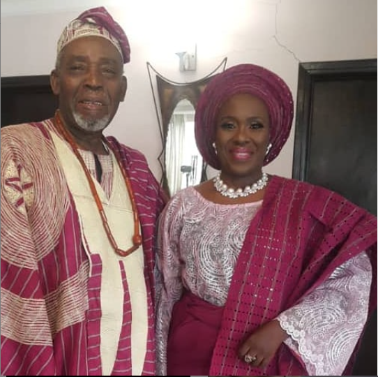 Actors Joke Silva and Olu Jacobs celebrate 35th wedding anniversary