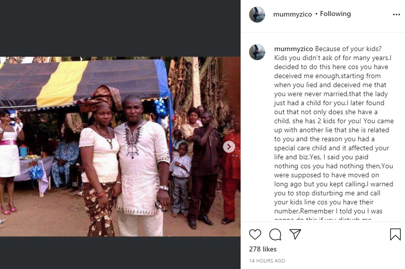Actress Eve Esin and movie producer fiance react after being called out by ex-wife for allegedly destroying her home and seizing her kids