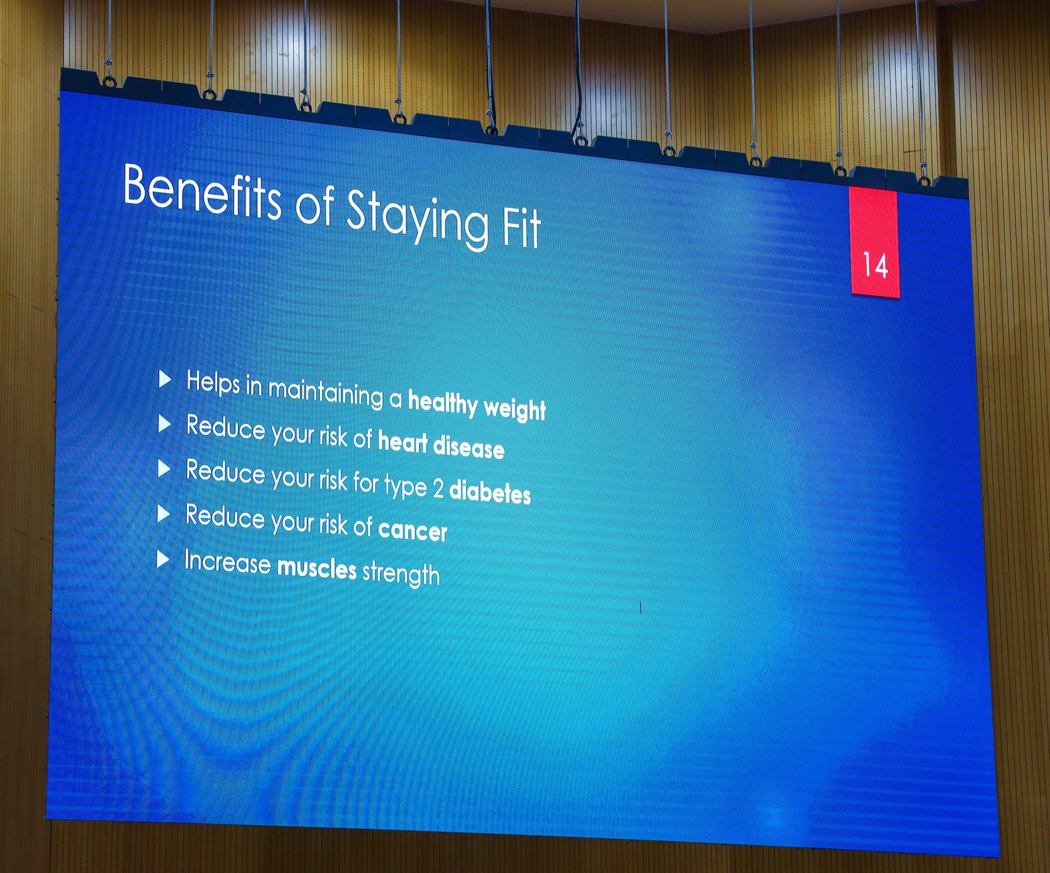 Minister of Communications and Digital Economy, Dr Isa Pantami demonstrates exercise tips in Kaftan lindaikejisblog 2