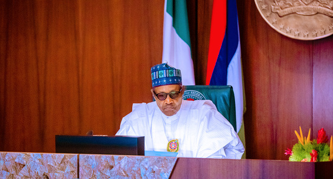 President Buhari pledges to do whatever it takes to prevent a repeat of the #EndSARS protest