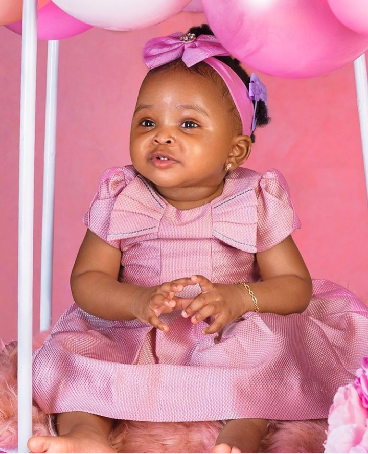 Stephanie Coker shares first photos of her daughter as she turns 1