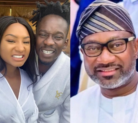 ?When una go marry?? ? Femi Otedola asks his daughter Temi and her boyfriend, Mr Eazi