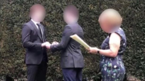 Schoolboys hold fake wedding to avoid coronavirus rules and throw end-of-year party