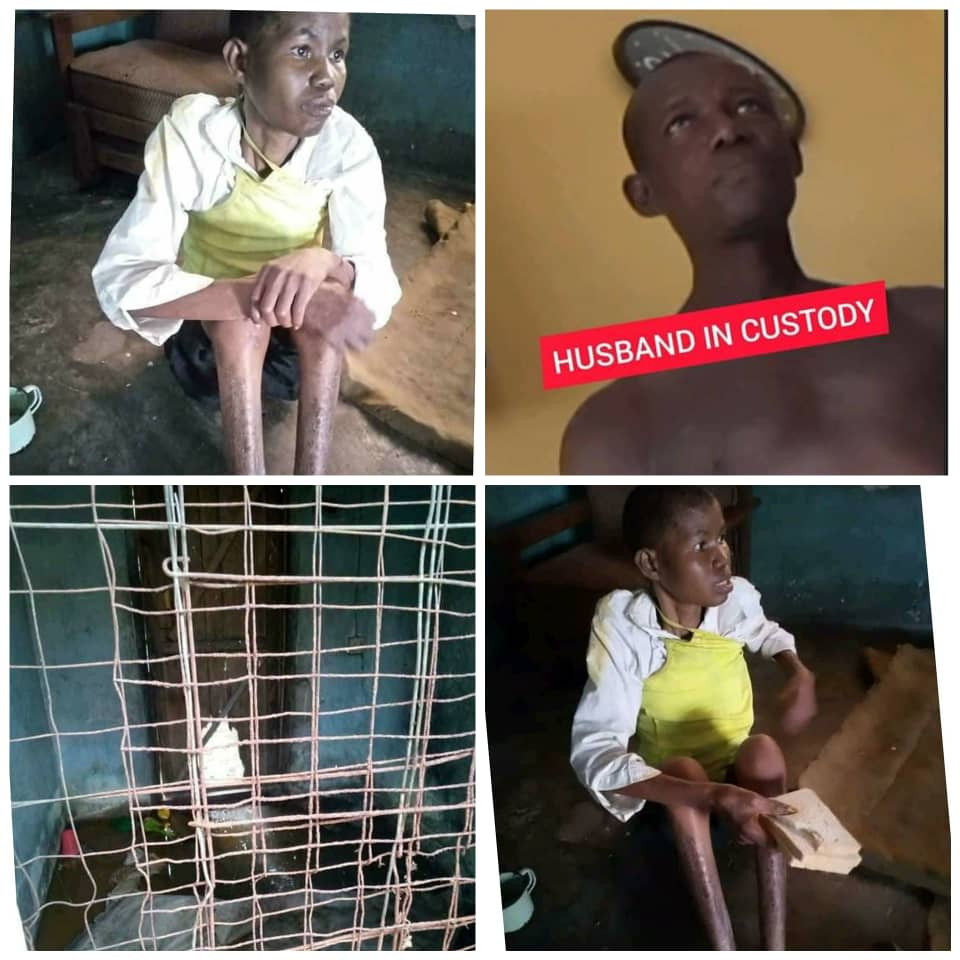Update: Man who caged his wife for over three years after accusing her of being a witch has been arrested