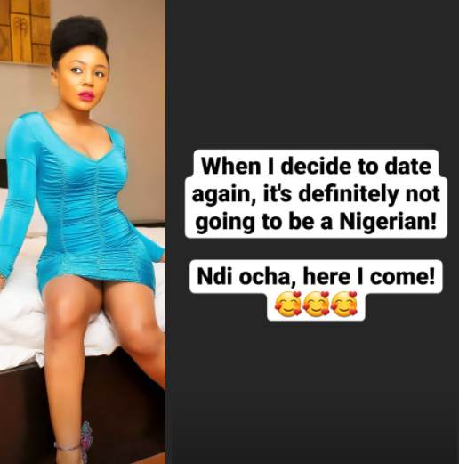 Ifu Ennada swears off Nigerian men