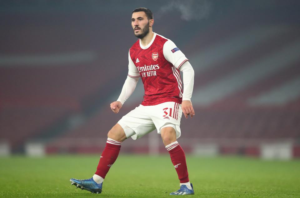 Arsenal defender, Sead Kolasinac tests positive for coronavirus while on international duty for Bosnia and Herzegovina