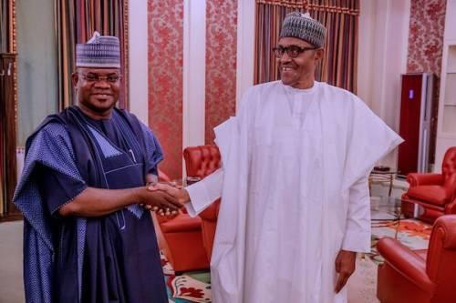 Buhari is like snow - Governor Yahaya Bello (video)