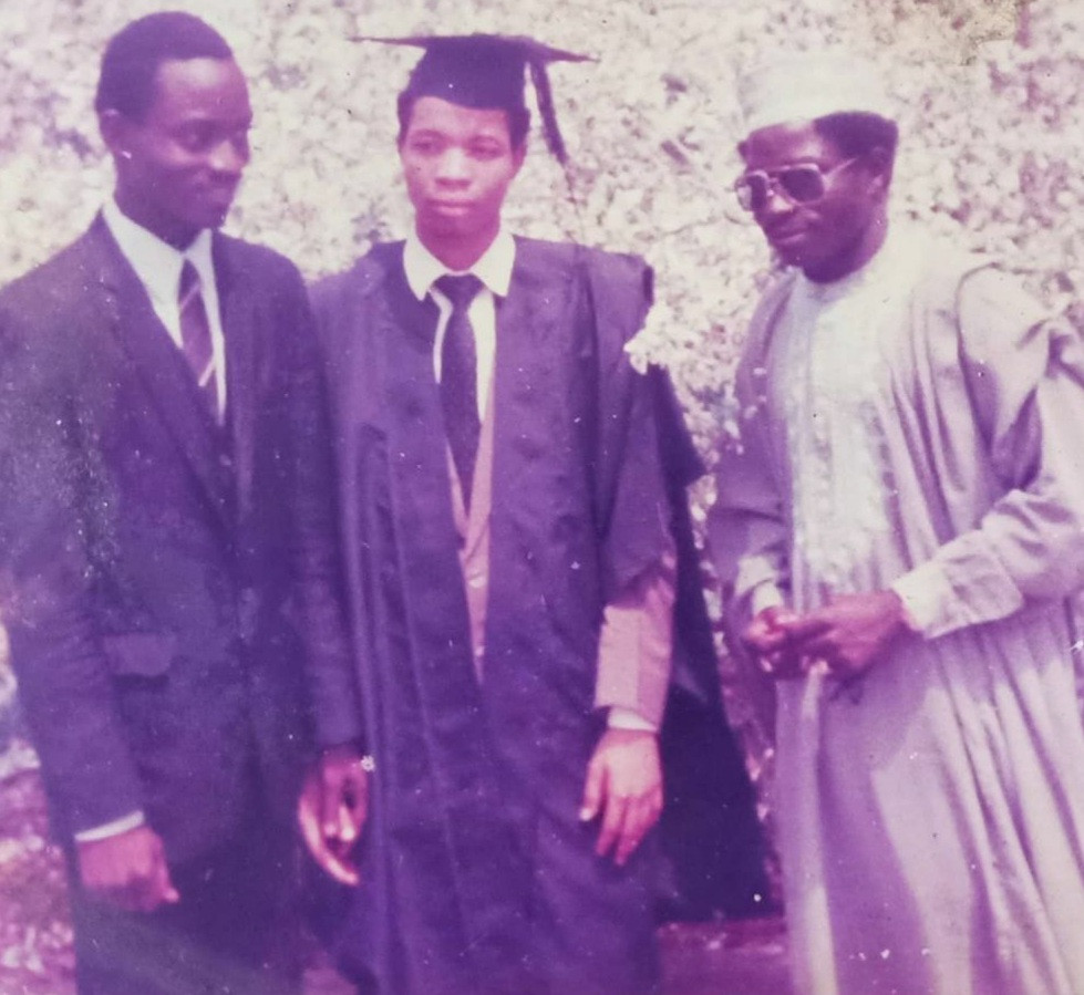 Saka recounts how God came through when he felt dejected on his matriculation day because he had no suit to wear