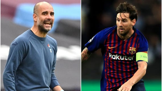 """I want Messi to stay at Barcelona""-? Pep Guardiola dismisses transfer rumors linking him with the soccer star"