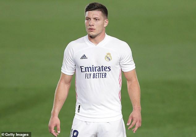 Real Madrid striker, Luka Jovic tests positive for Coronavirus