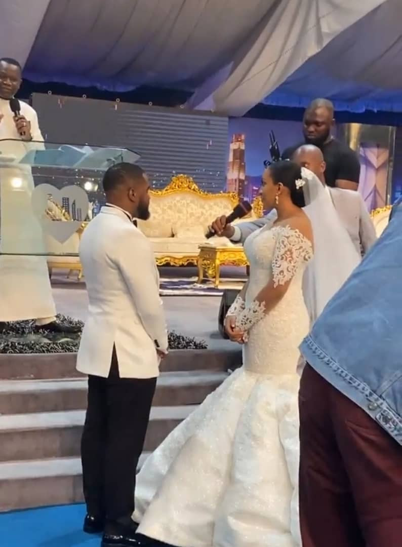 See Photos from actor Williams Uchemba's church wedding