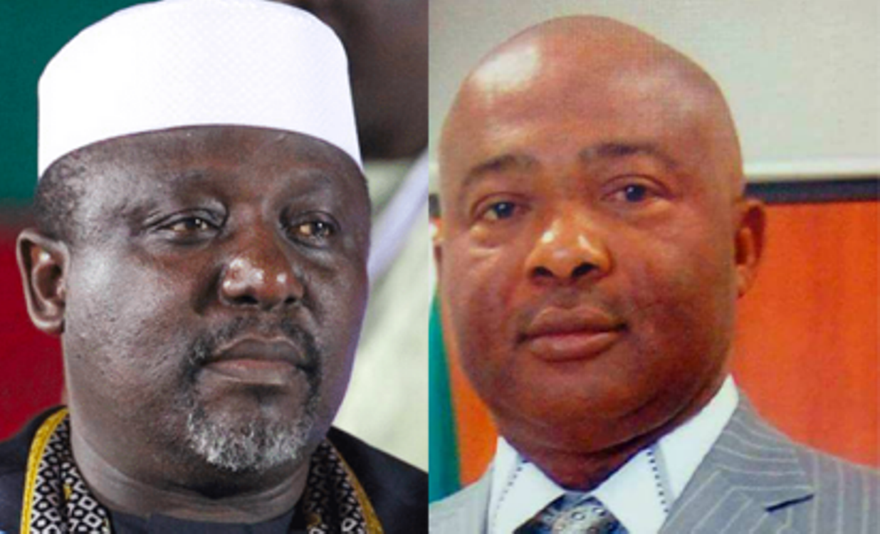 Concentrate on the fight against me and leave Imo people alone - Okorocha tells Uzodinma