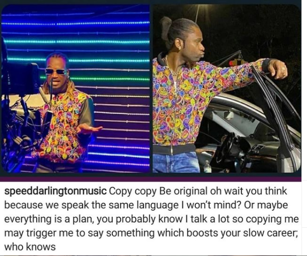 Copying me might boost your slow career - Speed Darlington calls out Paul Okoye