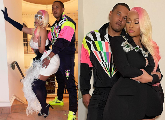 Nicki Minaj shares loved-up photos with her husband Kenneth Petty