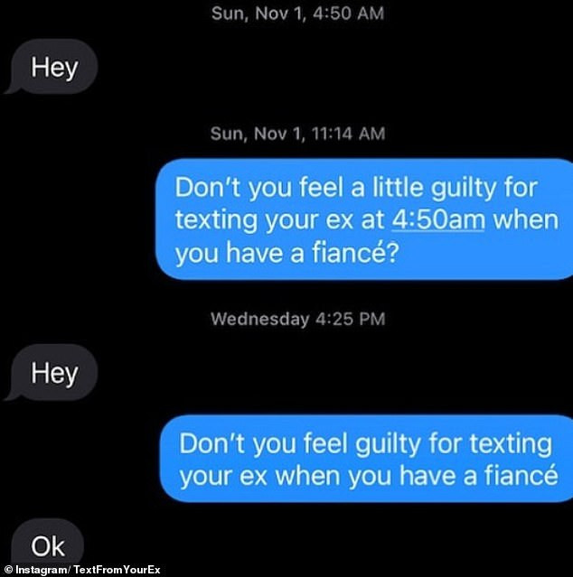People share their responses to unwanted texts from their exes