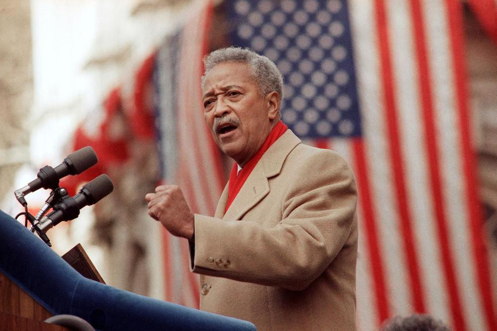 David Dinkins, New York City?s first African American mayor, dies at 93