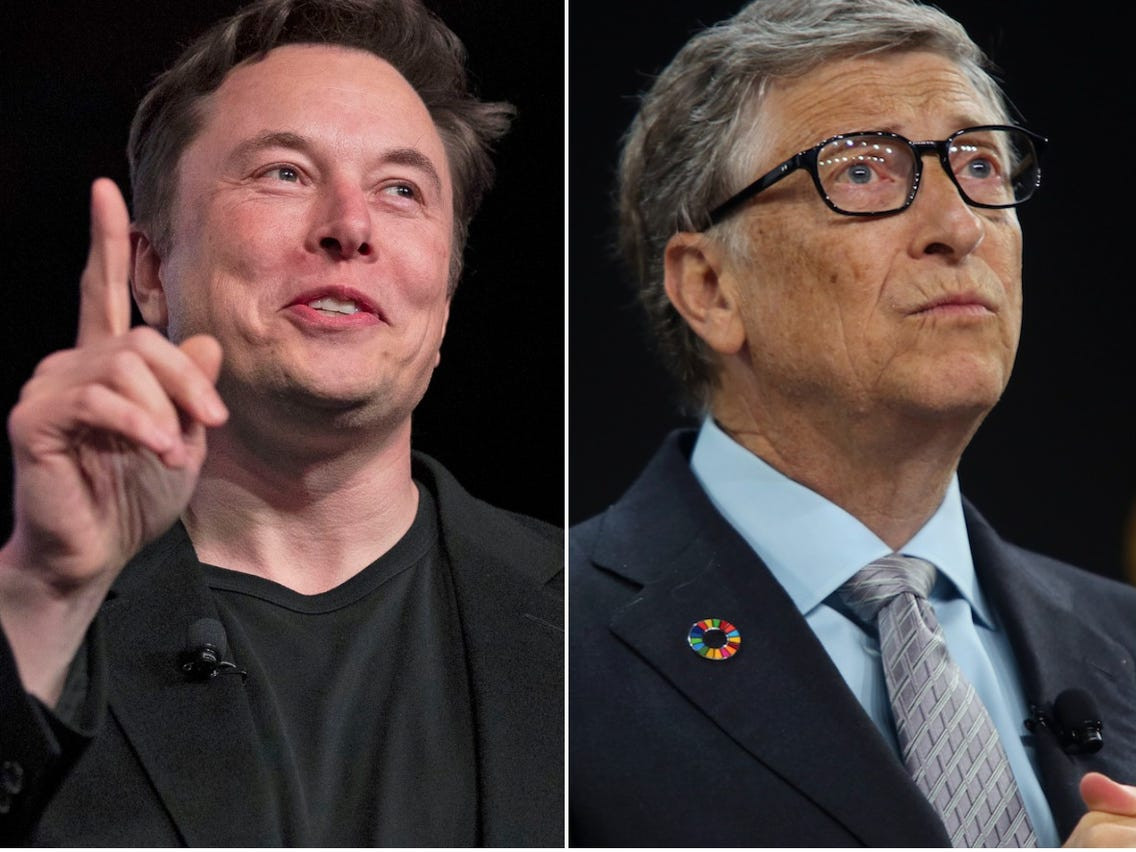Elon Musk overtakes Bill Gates to become world?s second-richest person a week after he overtook Mark Zuckerberg