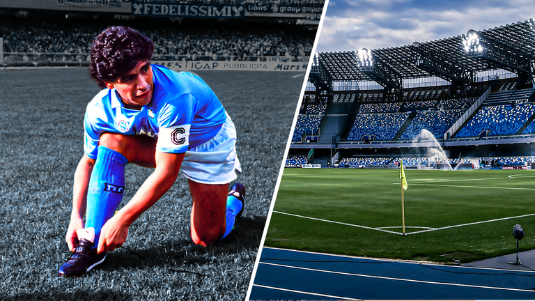 Napoli to rename the San Paolo stadium after late Diego Maradona