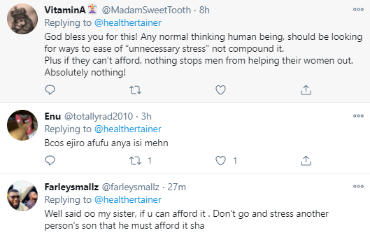 That a woman doesn?t like to do house chores doesn?t mean she?s lazy - Nigerian Medical doctor argues