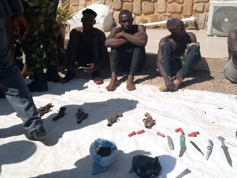 33 suspected cultists, armed robbers arrested as Army raids criminal hideouts in Plateau state