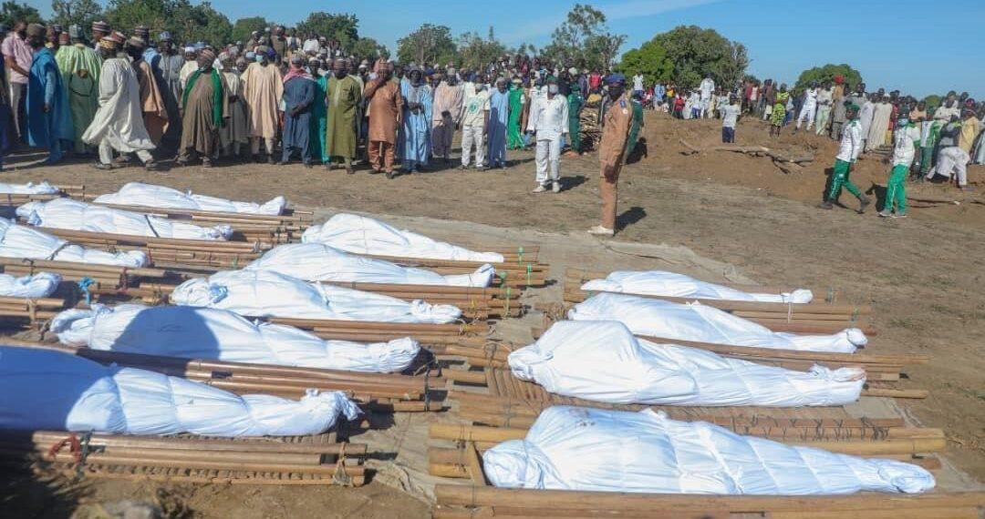 #Zabarmarimassacre: UN coordinator says over 110 were killed in Borno rice farm attack