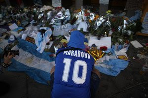 Argentine officials raid home of Diego Maradona