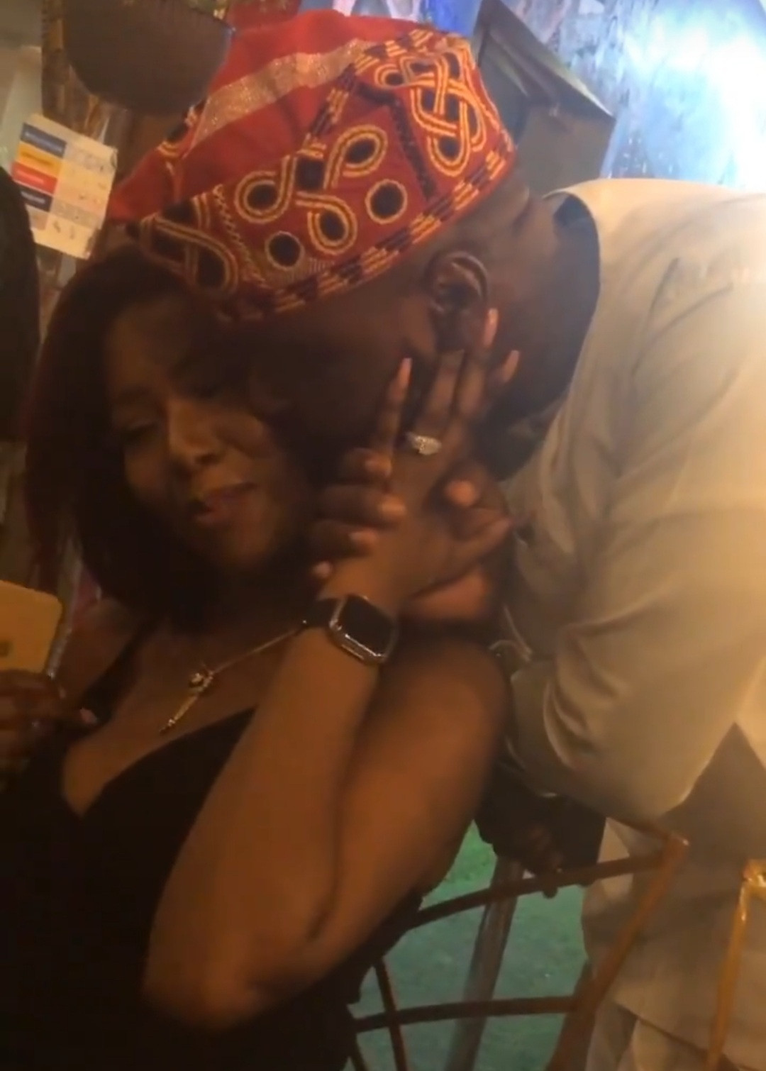 Media personality, Debola WIlliams, gets engaged (photos/video)