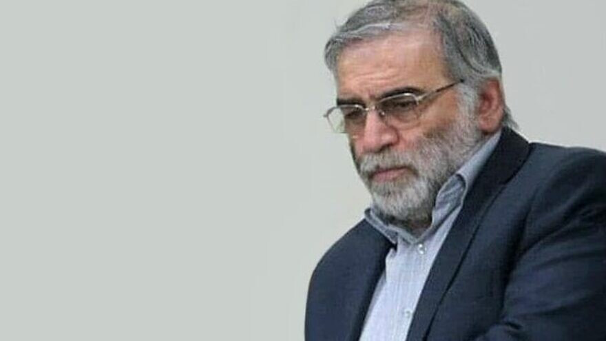 Assassinated Iranian chief nuclear scientist was shot with remote-controlled machine gun- New report says