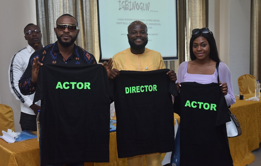 Film maker Ideh Chukwuma Innocent aka Onesoul set to commence production on his new project tagged IGBINOGUN