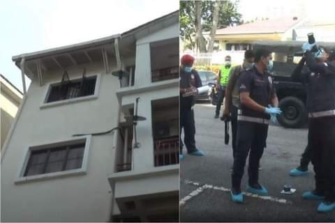 Photos: Nigerian man arrested in Malaysia for allegedly throwing his 4-year-old step-grandson from third floor apartment
