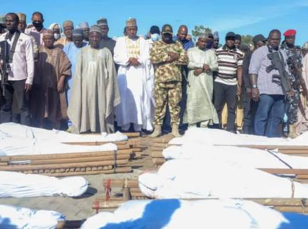 We informed military before the attack but nothing was done, Zabarmari residents say following massacre of scores of rice farmers